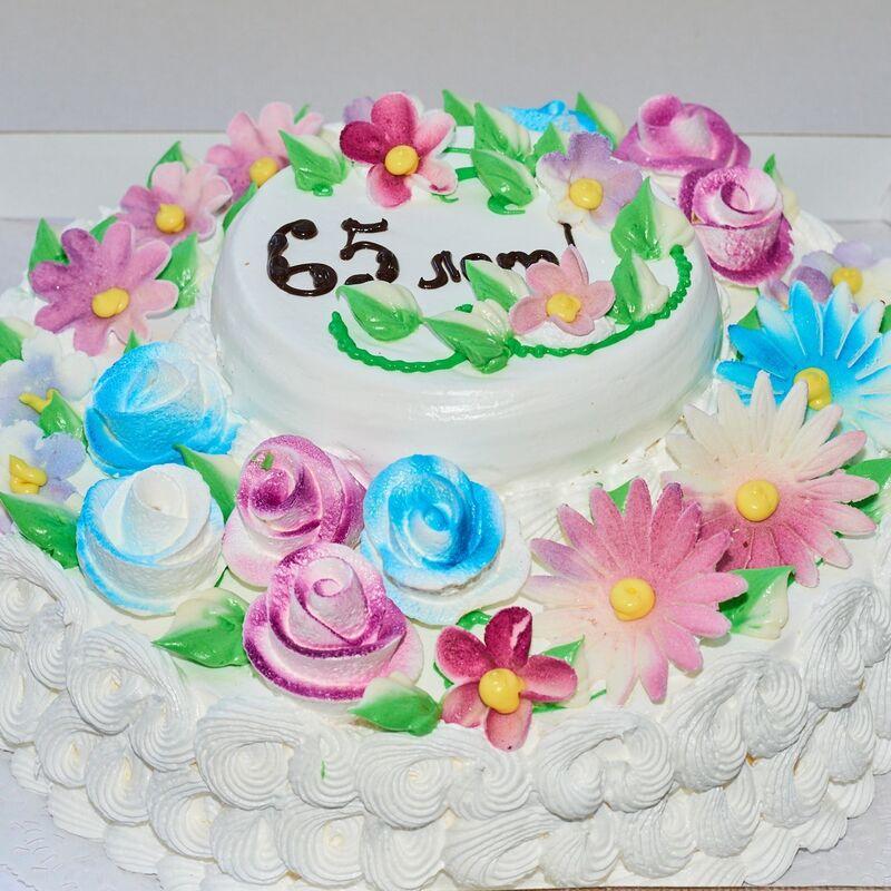 Торт Tortiki.by Юбилейный торт №1 - фото 1