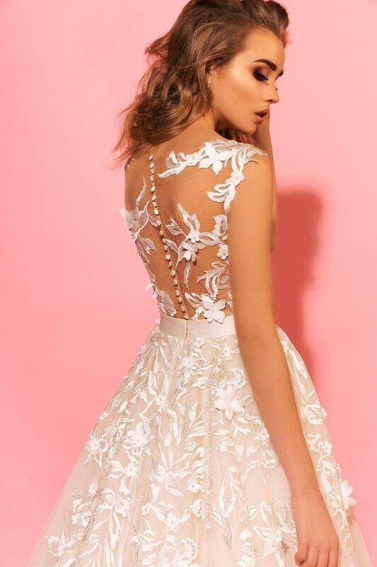 Свадебный салон Eva Lendel Свадебное платье Sandy - фото 3