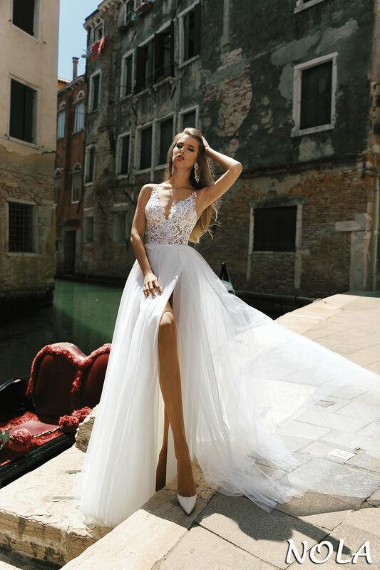 3c770fe62d9 Свадебный салон Bonjour Свадебное платье Nola из коллекции La Douceur -  фото 1 ...