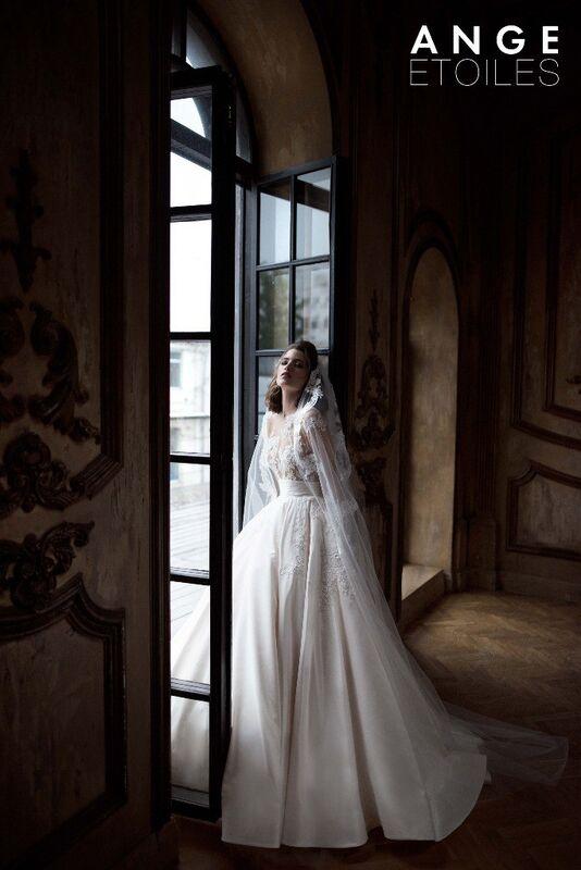 Свадебное платье напрокат Ange Etoiles Платье свадебное Charm 2017 Ludovika - фото 1