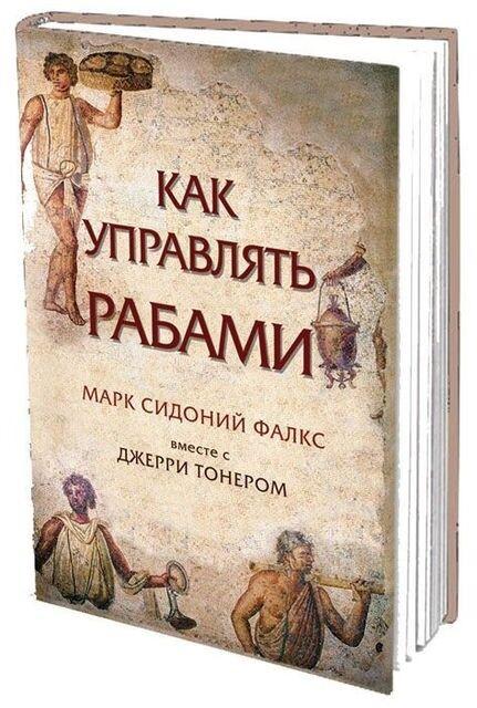 Книжный магазин М.С. Фалкс, Дж. Тонер Книга «Как управлять рабами» - фото 1