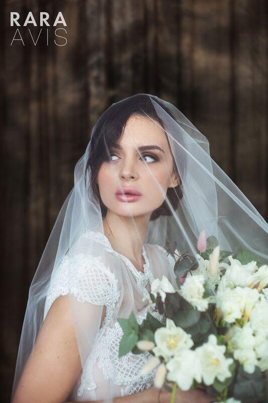 Свадебный аксессуар Rara Avis Фата №14 - фото 3
