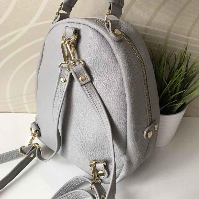 Магазин сумок Vezze Кожаный рюкзак C00182 - фото 2