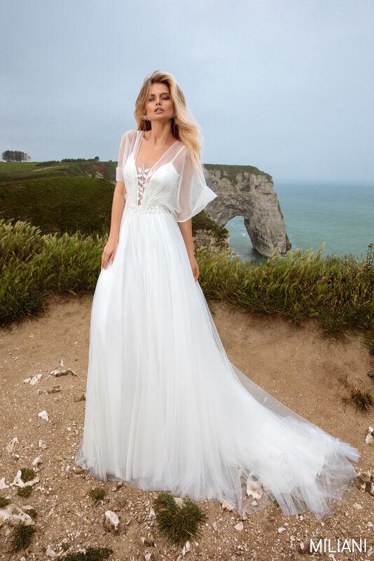 Свадебный салон Bonjour Galerie Платье свадебное MILIAN из коллекции BON VOYAGE - фото 3