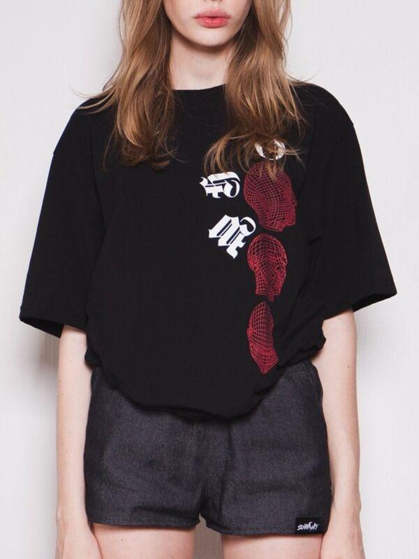 Кофта, блузка, футболка женская SoWhat Футболка женская «Black Soul» SKU0138000 - фото 1