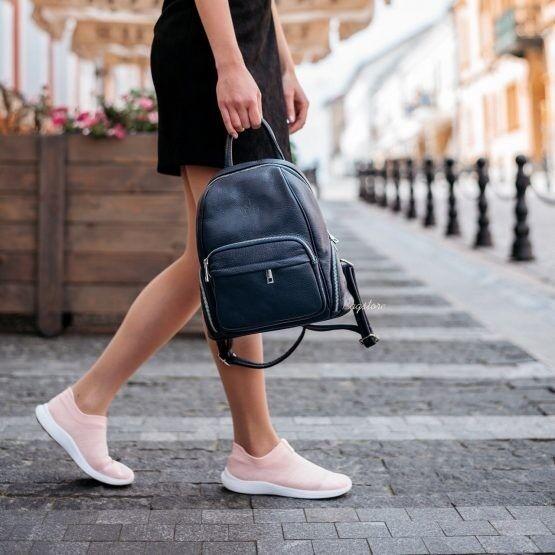 Магазин сумок Vezze Кожаный женский рюкзак C00522 - фото 1
