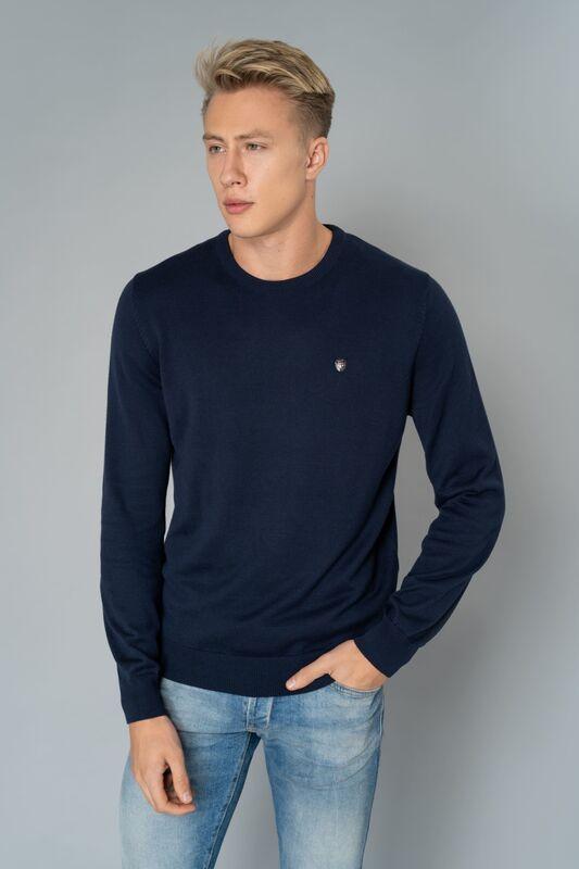 Кофта, рубашка, футболка мужская Etelier Джемпер мужской tony montana T1001 - фото 4