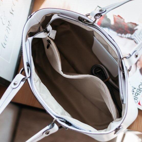 Магазин сумок Vezze Кожаная женская сумка C00493 - фото 3