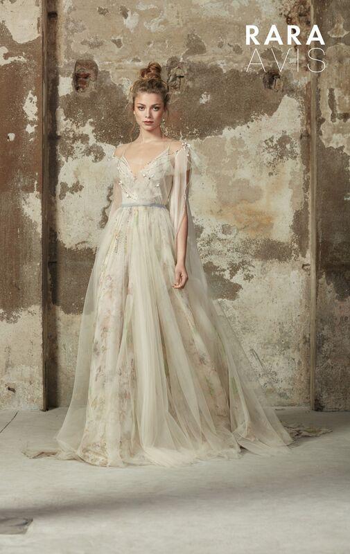 Свадебное платье напрокат Rara Avis Платье свадебное Floral Paradise Delvin - фото 1
