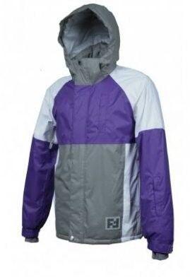 Спортивная одежда Free Flight Мужская мембранная горнолыжная куртка фиолетовая - фото 1