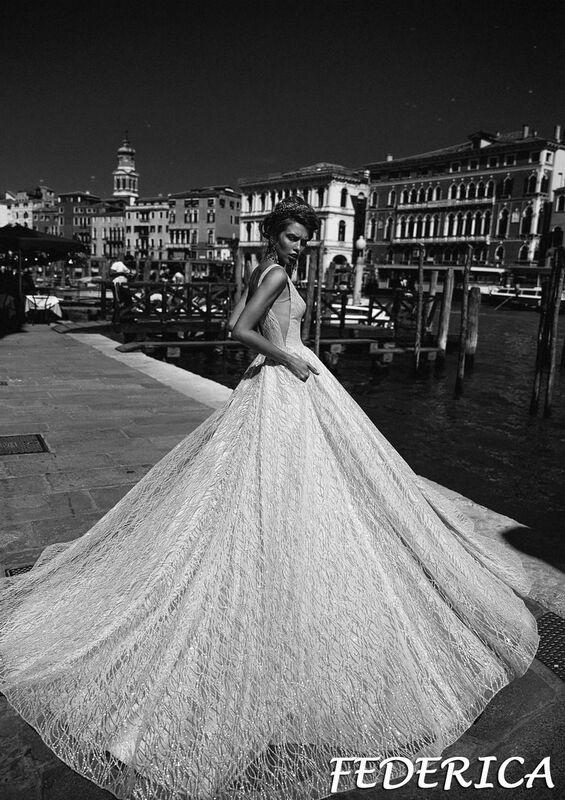 Свадебный салон Bonjour Galerie Свадебное платье Federica из коллекции La Douceur - фото 5