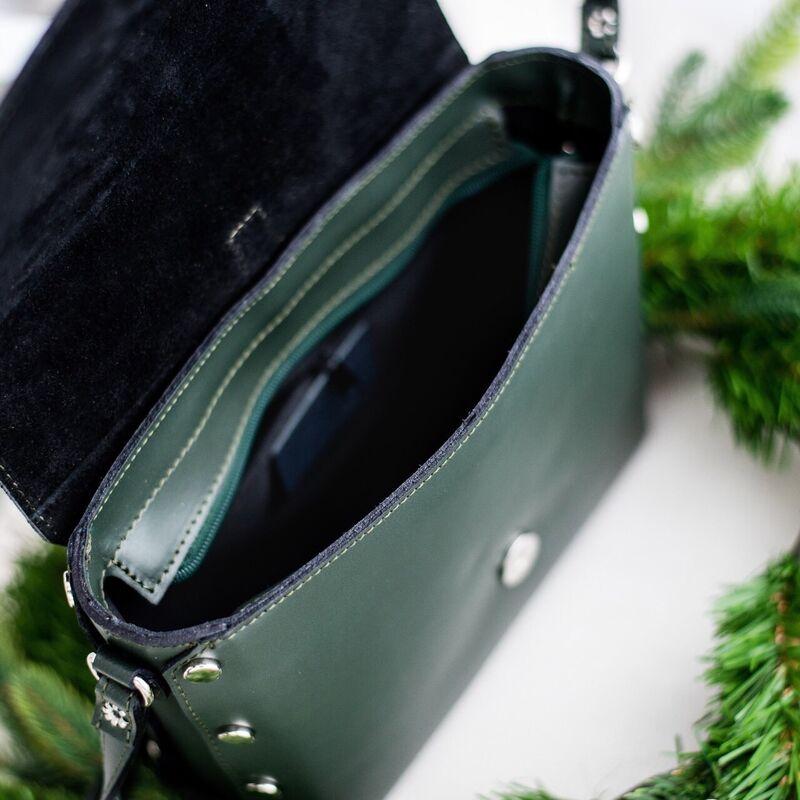 Магазин сумок Vezze Кожаная женская сумка C00423 - фото 3