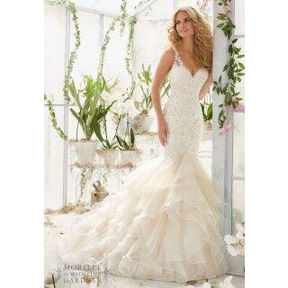 Свадебное платье напрокат Mori Lee Платье свадебное 2819 - фото 1