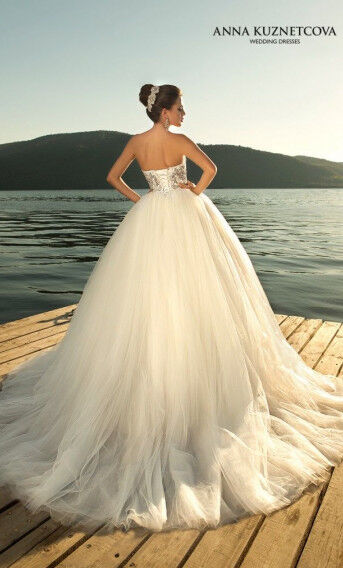 Свадебное платье напрокат Vanilla room Платье свадебное Бриджит - фото 2