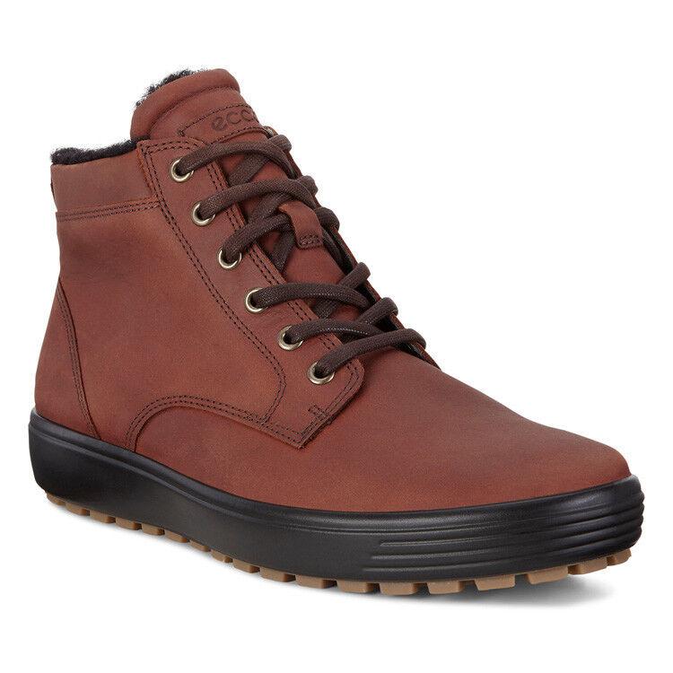Обувь мужская ECCO Кеды высокие SOFT 7 TRED 450194/01053 - фото 1