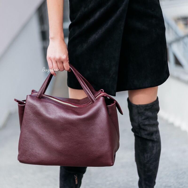 Магазин сумок Vezze Кожаная женская сумка C00534 - фото 2