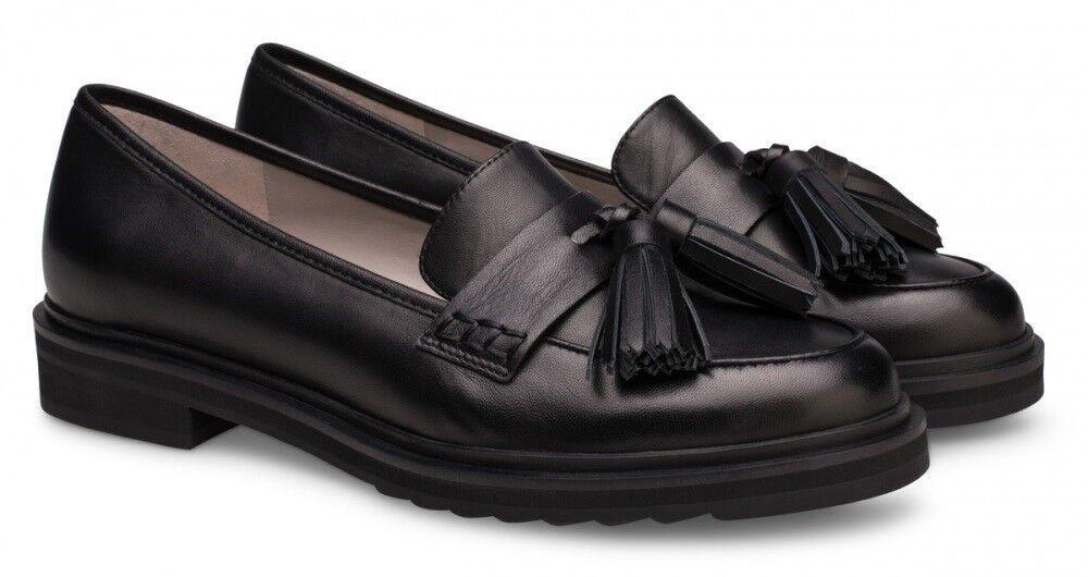 Обувь женская Alla Pugachova Лоферы женские AP1838-12 black - фото 1