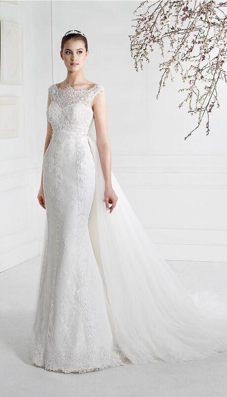 Свадебное платье напрокат Fara Sposa Платье свадебное 5203 - фото 1