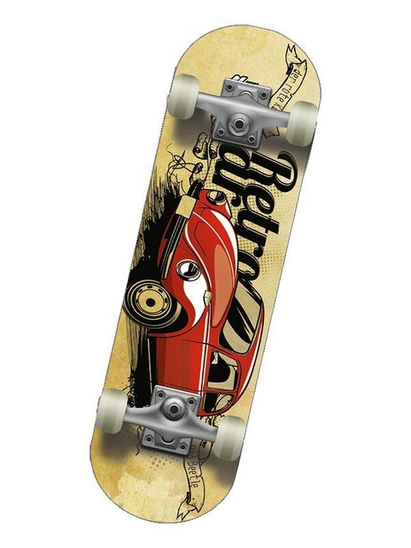 Скейтборд Спортивная коллекция Скейтборд Mini-Board Beetle Jr - фото 1