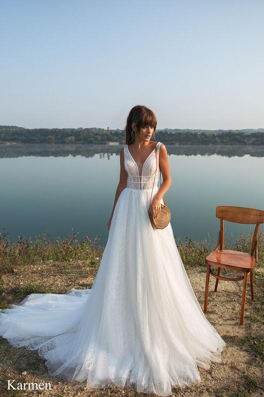 Свадебный салон Aivi Свадебное платье Karmen (New Collection) - фото 1