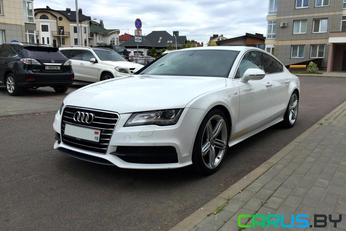 Прокат авто Audi A7 S-Line - фото 1