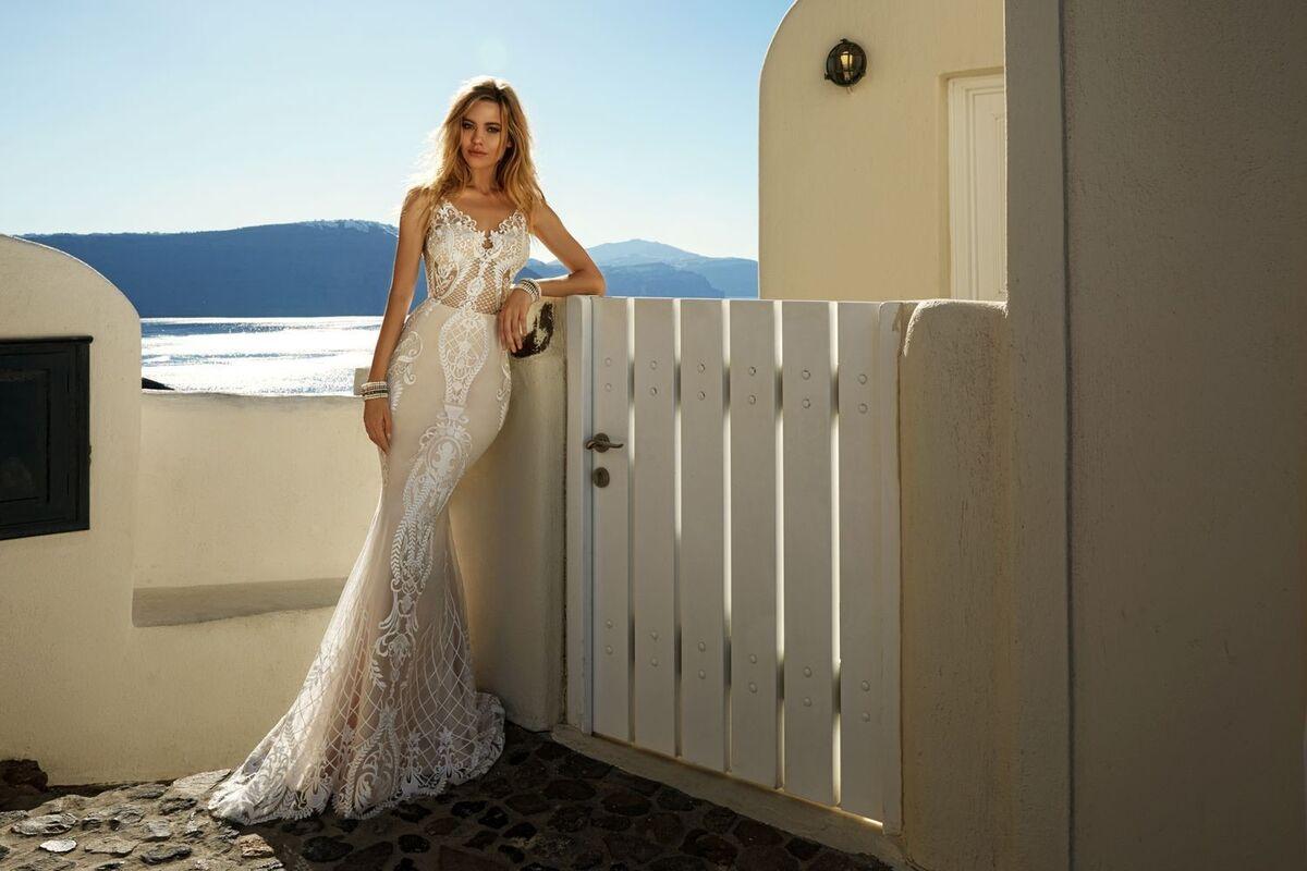 Свадебный салон Eva Lendel Свадебное платье Tailor - фото 3