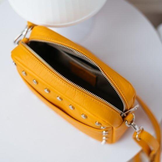 Магазин сумок Vezze Кожаная женская сумка C00509 - фото 2