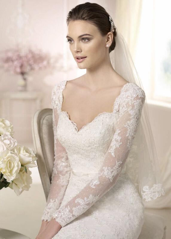 Свадебное платье напрокат White One (Pronovias) Платье свадебное «Damasia» - фото 3