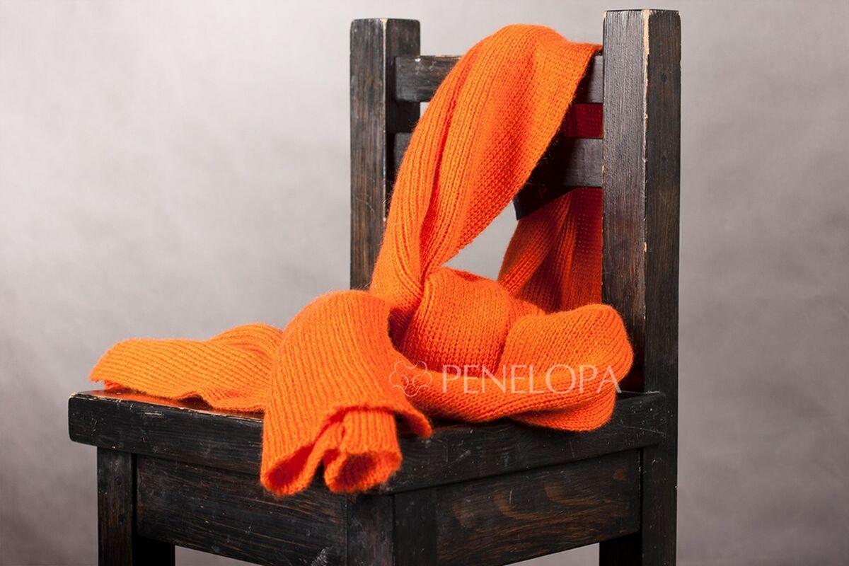 Шарф и платок PENELOPA Яркий вязаный шарф M2 - фото 3