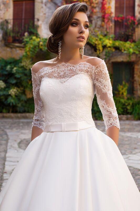 Свадебное платье напрокат Bonjour Платье свадебное «Zara» из коллекции LA SENSUALITE 2017 - фото 3