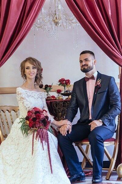 Свадебное платье напрокат ALIZA Свадебное платье «Ambre» Diva Vivien - фото 3