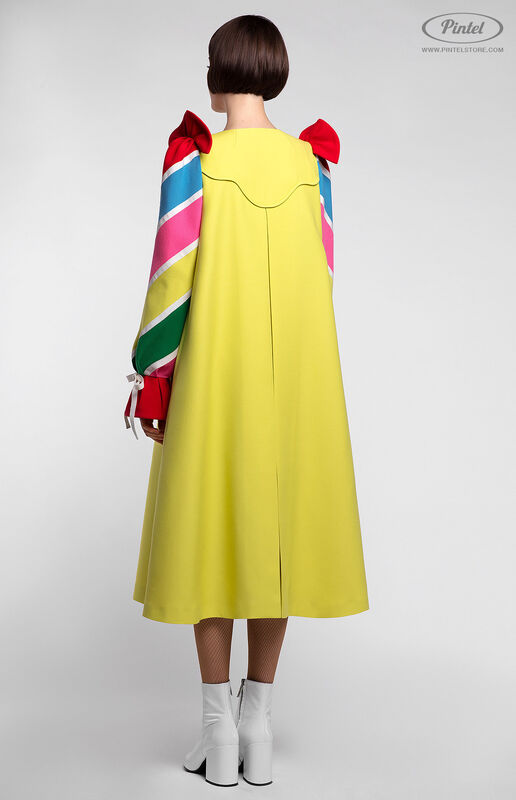 Платье женское Pintel™ Платье-пальто А-силуэта Tinka - фото 5