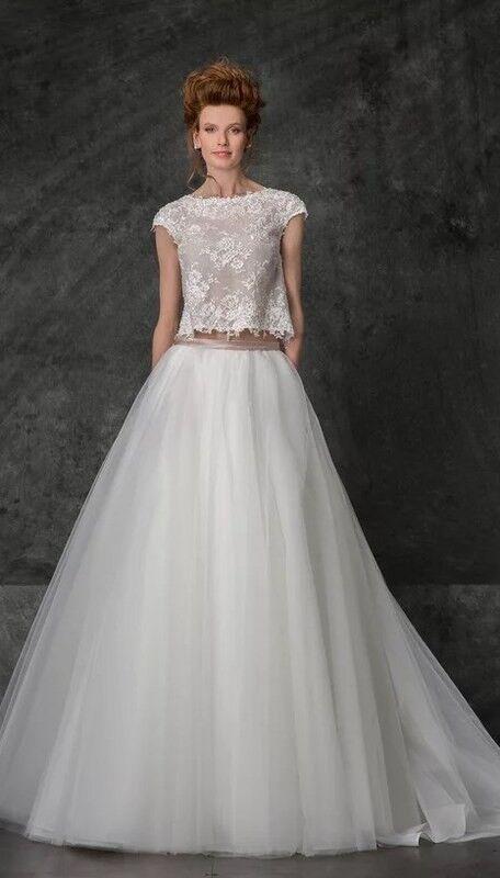 Свадебное платье напрокат Edelweis Платье свадебное «Nice» - фото 1