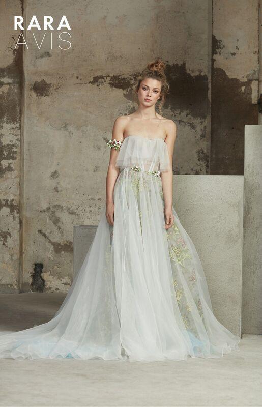 Свадебное платье напрокат Rara Avis Платье свадебное Floral Paradise  Ilan - фото 2