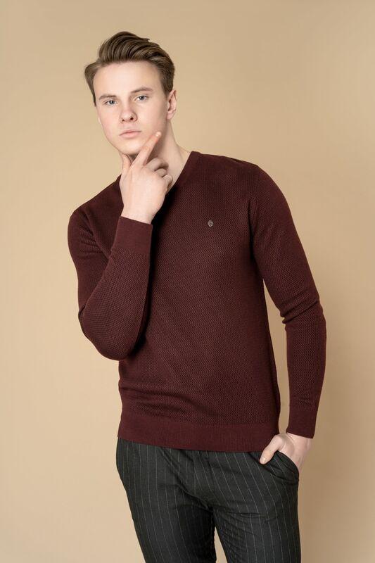 Кофта, рубашка, футболка мужская Etelier Джемпер мужской  tony montana T1020 - фото 1