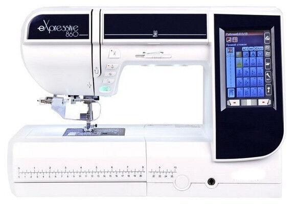 Товар для рукоделия Elna Швейно-вышивальная машина Expressive 860 - фото 1