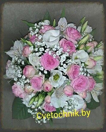 Магазин цветов Цветочник Букет невесты «Адель» - фото 1