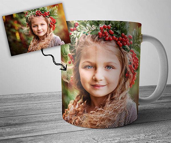Подарок на Новый год Optimizm Кружка с фото (печать) - фото 1