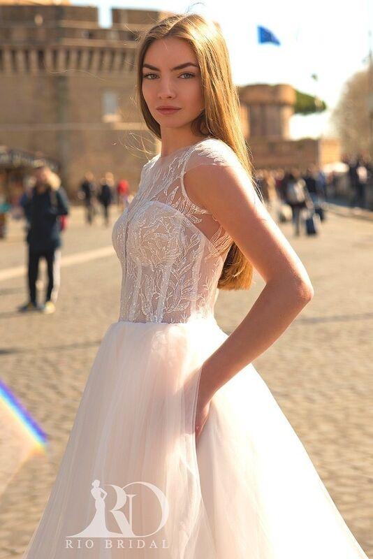 Свадебное платье напрокат Rafineza Свадебное платье Milena напрокат - фото 3