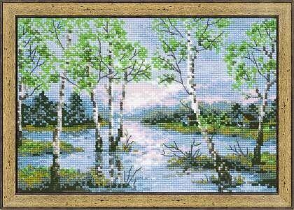 Товар для рукоделия Риолис Набор для вышивания «Вешние воды» - фото 1