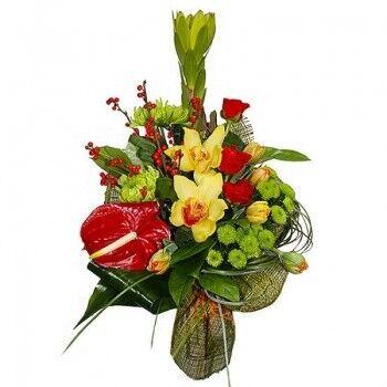 Магазин цветов Ветка сакуры Мужской букет №42 - фото 1