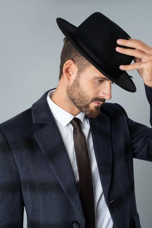 Верхняя одежда мужская Etelier Пальто мужское демисезонное 1М-90161-1 - фото 4