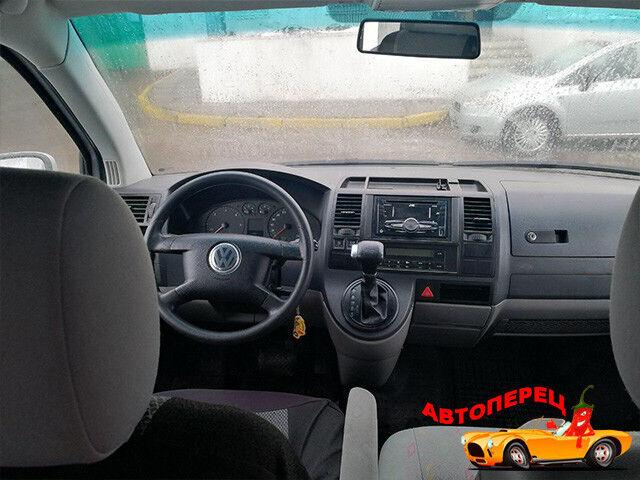 Прокат авто Volkswagen Transporter T5 Caravelle - фото 4