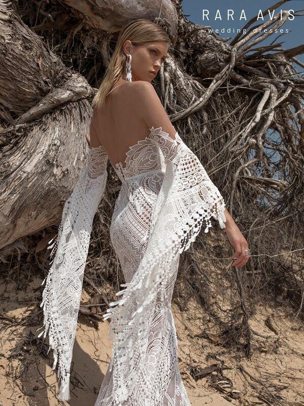 Свадебное платье напрокат Rara Avis Свадебное платье Wild Soul Lari - фото 2
