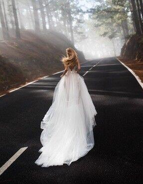 Свадебное платье напрокат Blammo-Biamo Свадебное платье Dream Ocean Lykia - фото 2