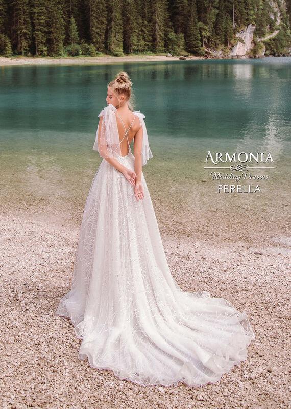 Свадебное платье напрокат Armonia Ferella - фото 3