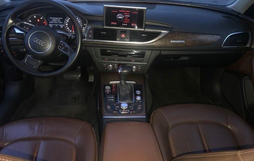 Прокат авто Audi A6  2011 г.в. - фото 5