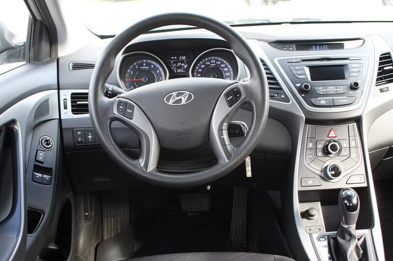 Аренда авто Hyundai Elantra 2014 г.в. - фото 3