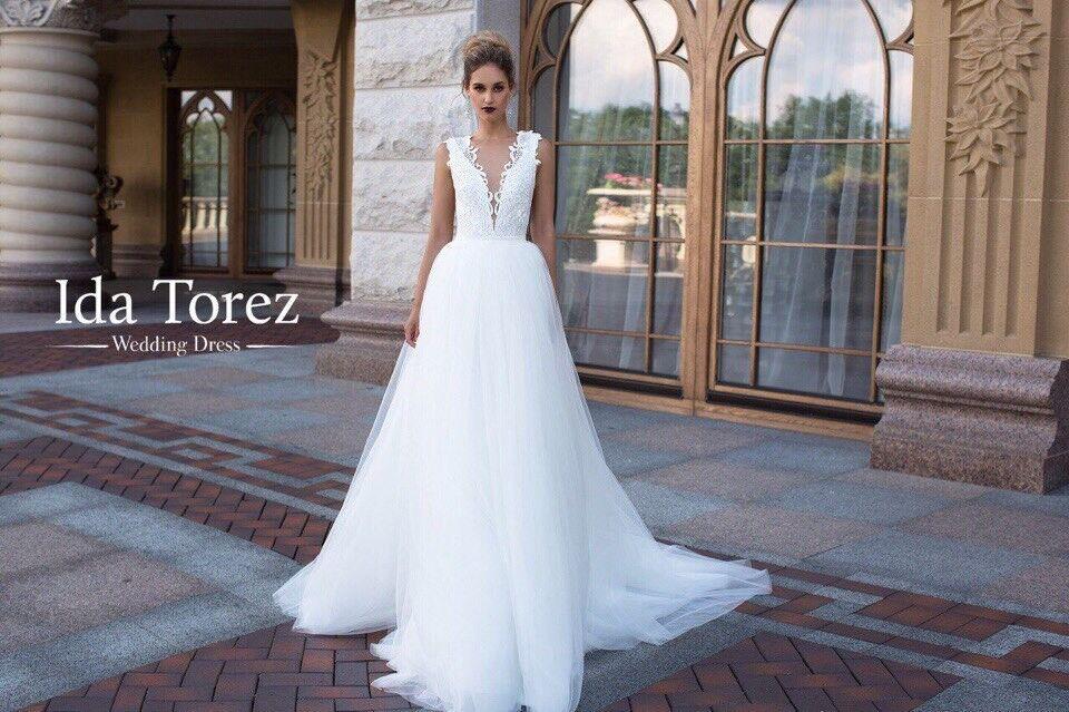 Свадебное платье напрокат Ida Torez Свадебное платье Judith - фото 2