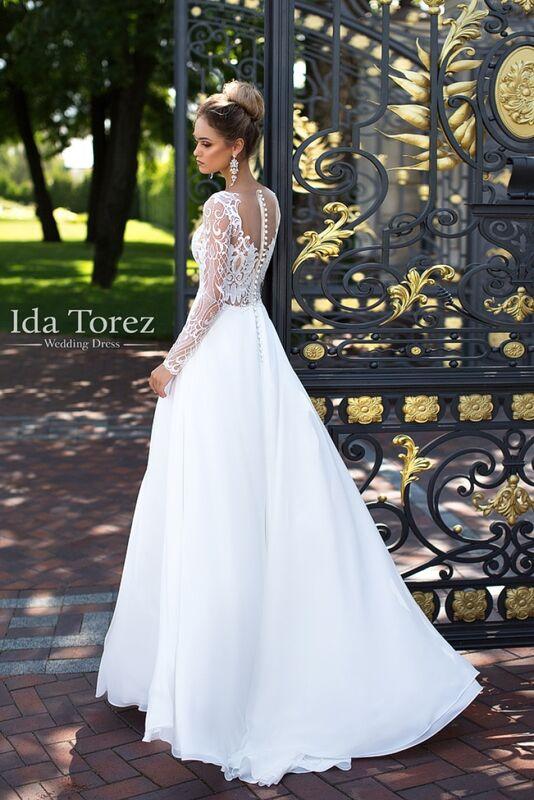 Свадебное платье напрокат Ida Torez Свадебное платье Candice - фото 2